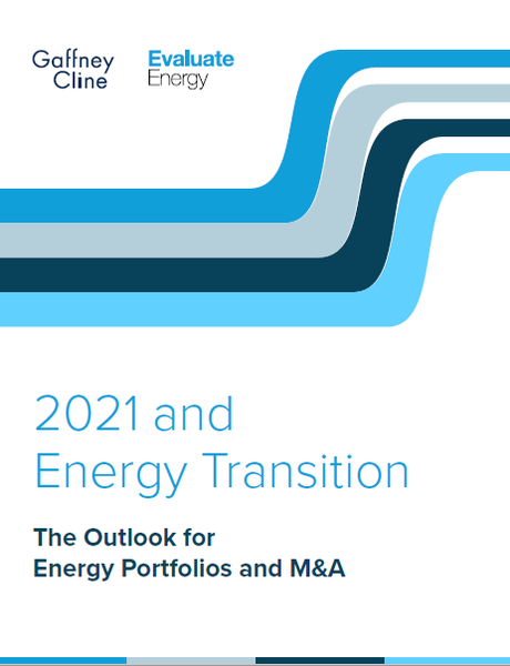 Special Report: 2021 and Energy Transition:  The Outlook for Energy Portfolios and M&A